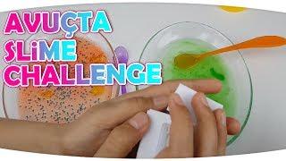 Avuçtan Ne Çıkarsa Slime Challenge - Sürpriz Malzemeler ile | Fenomen Tv