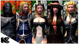 Skyrim Special Edition: ▶️5 MUST HAVE ARMOUR MODS◀️|8| Killerkev