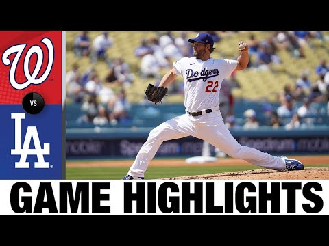 Nationals vs. Dodgers Game Highlights (4/11/21)   MLB Highlights
