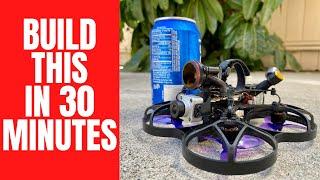 Building a Tiny Digital GoPro Drone - UMMA95 Build Video