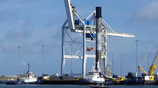 SpaceX B1048 Aboard OCISLY