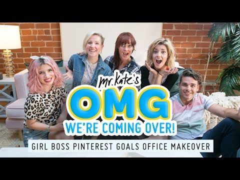 Pinterest Goals Office Makeover for Grace Helbig, Hannah Hart, and Mamrie Hart | Mr. Kate