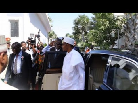 West African leaders arrive for Gambia crisis talks