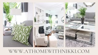 BEAUTIFUL LIVING ROOM ORGANIZING TIPS & DECORATING IDEAS