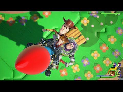 Vidéo de présentation du gameplay de Kingdom Hearts III