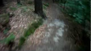 preview picture of video 'Mountainbike Sturz Theodor Fontane Weg in Falkenberg'