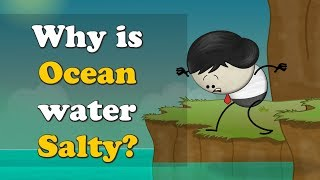 Why is Ocean water Salty? | #aumsum #kids #science #education #children