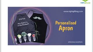 APRON AS PERSONALIZED GIFTS