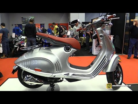 2015 Vespa 946 150ie Scooter - Walkaround - 2015 Salon Moto de Montreal