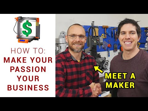 Starting a business to suit your passions - Meet a Maker: Nick