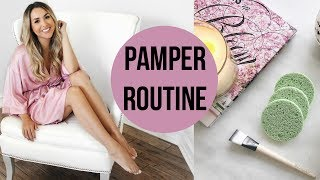 Alex Garza: Pamper Routine for Glowy Skin