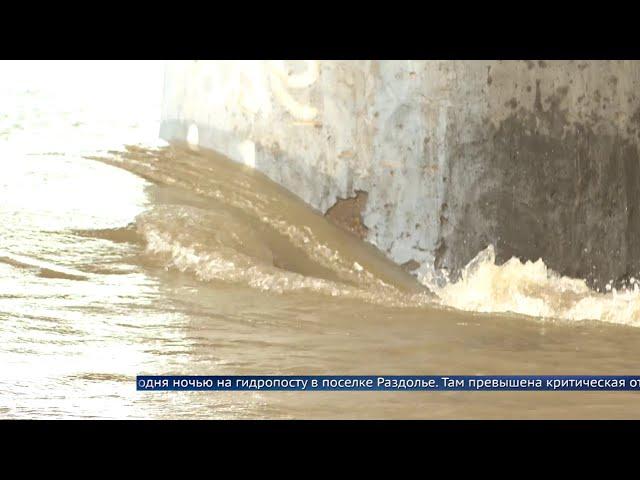 В Приангарье резко повысился уровень рек