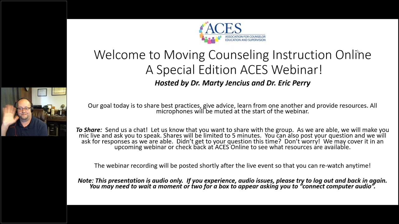 Moving Counseling Instruction Online - 4 of 4