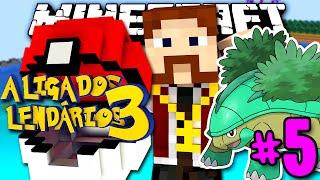 Grotle  - (Pokémon) - LIGA DOS LENDÁRIOS 3 - GROTLE SHINY! POKÉMON ÉPICO!! - #5 - Minecraft