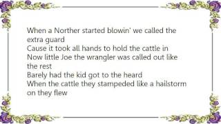 Chris LeDoux - Little Joe the Wrangler Lyrics