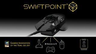 Мышка для геймеров Swiftpoint Z от компании ErgoLife - видео