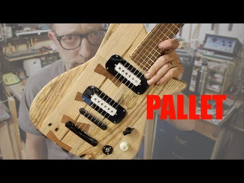 One Pallet, One Guitar