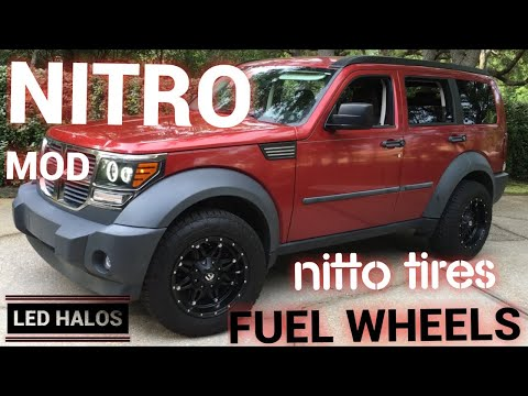 Dodge Nitro | Fuel Hostage wheels | Nitto Tires | LED Halo Lights