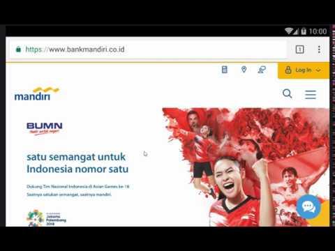 Cara Cek Saldo Rekening Bank Mandiri Via Internet Banking