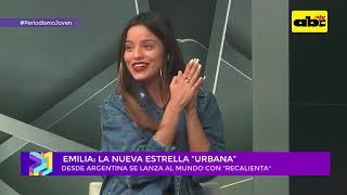 Emilia Mernes en Paraguay: entrevista y acústico