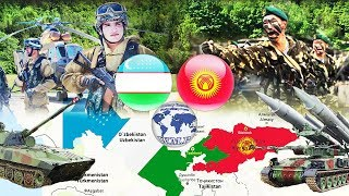 Uzbekistan VS Kyrgyzstan Military Power Comparison 2017