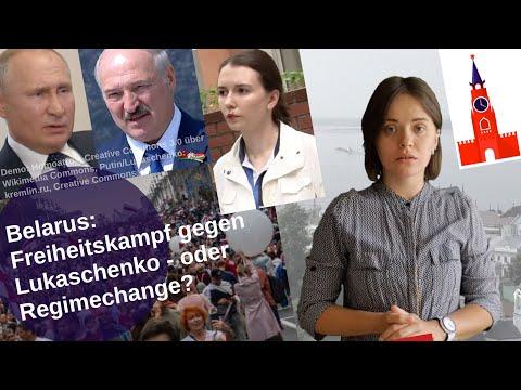 Belarus: Freiheitskampf gegen Lukaschenko – oder Regimechange? [Video]
