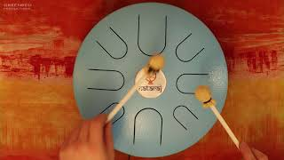 Tongue Drum Music: Relaxing Focus Music for Studying, Handpan Music