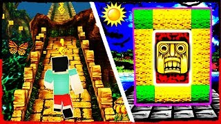 Minecraft - How to Make a Portal to TEMPLE RUN