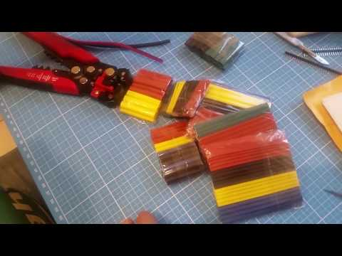 How to use Halogen-Free Heat Shrink Tube Sleeving 5 Color 8 Size