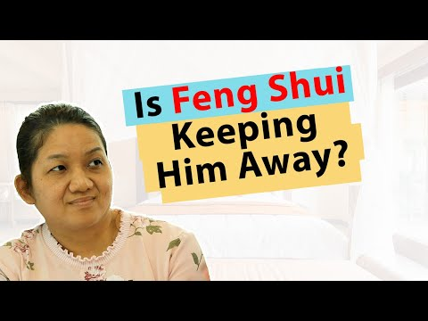 Feng Shui examples: Is Bad Feng Shui keeping her husband away?
