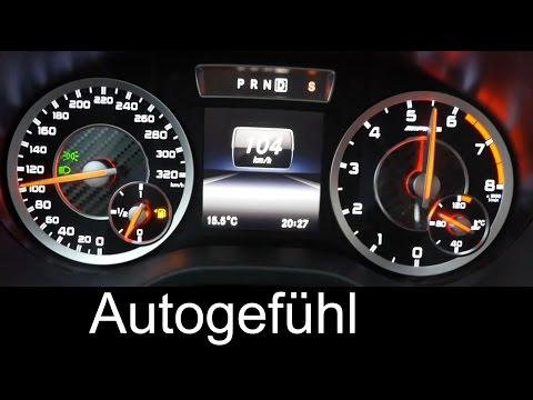 Mercedes A-Class A45 AMG 0-100 km/h 0-60 mph acceleration – Autogefuhl