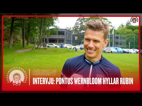 Youtube: Frölunda på Kamratgården: Pontus Wernbloom hyllar Niklas Rubin