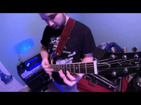 Spear Guitar endorsee Pablo Ortega playing T 200Q with mounted GoPro cam