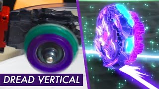 DREAD VERTICAL SPECIAL MOVE! | Anime VS Real Life Beyblade Burst GT/Rise