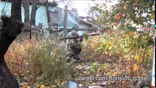 Атака ополченцев в Никишино 18.10.14