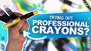 NOT YOUR GRADE-SCHOOL CRAYONS!? | Mystery Art Box | Paletteful Packs Unboxing