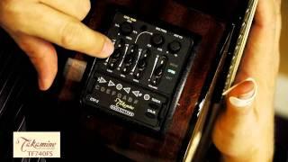 Takamine TF740FS GUitar Demo By Lance Allen