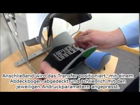 Tipps & Tricks: Bedrucken von Cappys mit einer Kappen-Transferpresse