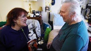 Retired newlyweds celebrate first Valentine