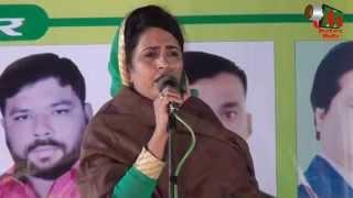 Shabina Adeeb on ACCHE DIN at Nagpur Mushaira 2015, Mushaira Media