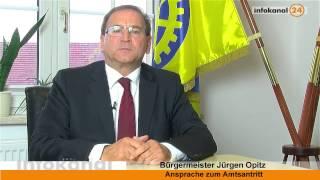 preview picture of video 'Ansprache zum Amtsantritt von Jürgen Opitz als Heidenauer Bürgermeister'