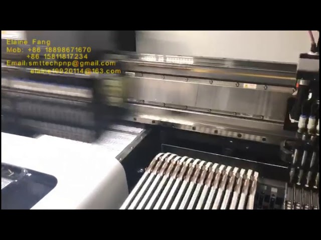chip mounter pick and place machine