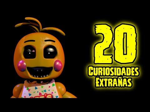 TOP 20: Las 20 Curiosidades Extrañas De Toy Chica de Five Nights At Freddy's | fnaf 2