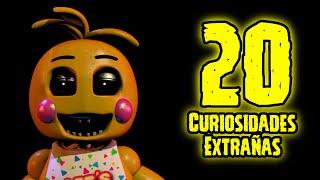TOP 20: Las 20 Curiosidades Extrañas De Toy Chica de Five Nights At Freddy's   fnaf 2