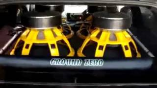 40000 ватт Ground Zero GZPW 18SPL. Сабвуфер (subwoofer)