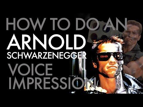 """How To Do An Arnold Schwarzenegger Voice Impression"" - Voice Breakdown Ep. 27"