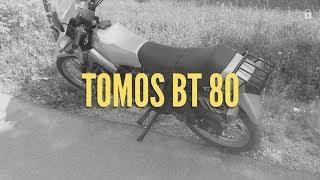 TOMOS BT 80 TESTNA VOŽNJA