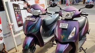 Honda Activa 5G Double Colour Wrapping/Taping
