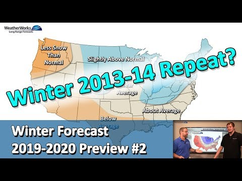 Winter Forecast 2019 - 2020 Preview #2