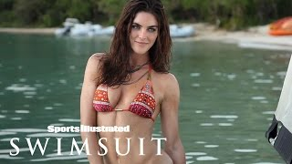 Hilary Rhoda Gets Oiled Up Behind The Scenes At The Beach | Outtakes | Sports Illustrated Swimsuit